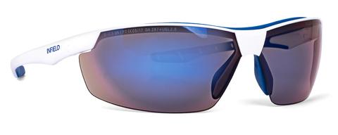 Intra Brille Flexor Plus Outdoor 9025-130 Gestell weiß/blau Blau