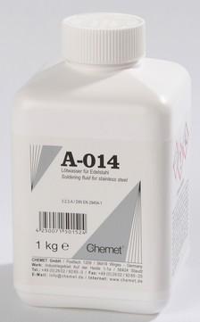 Chemet Lötwasser A-014 1 kg Flasche, für Edelstahl