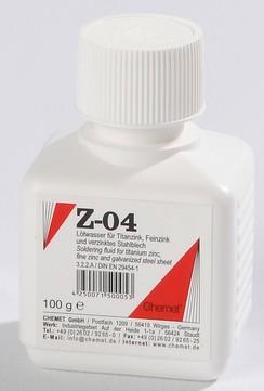 Chemet Lötwasser Z-04 100 ml Pinselflasche