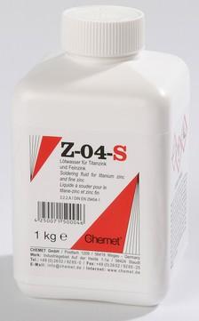 Chemet Lötwasser Z-04-S 1 kg lasche verwittertes Zink