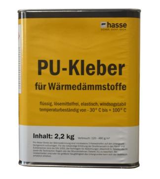 C. Hasse & Sohn PU-Kleber Dämmstoffe 2,2 kg