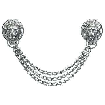 INA Löwenkopfkette Gr.1 SILB