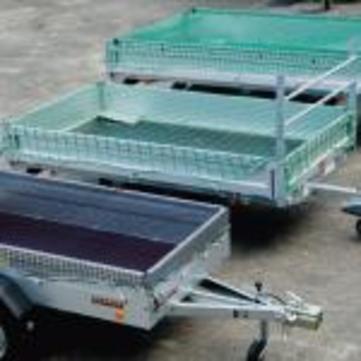 Huck Abdecknetz 3mm 2,5x3,5m Polypropylen hochfest mit Spannleine Grün