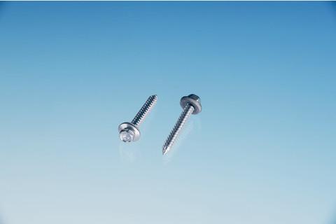 ThyssenKrupp Plastics Schraube spezial ALWO 6,5x 50 mm mit 16 mm Dichtscheibe Typ A 100St/Pak Edelstahl V2A