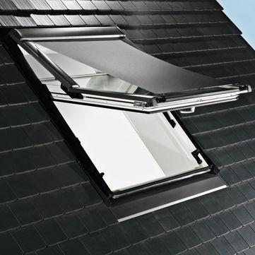 Roto Außenrollo Screen ZAR 6x84 560 09/.. Außenrollo Screen Grau