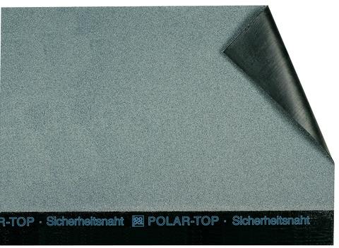 Icopal POLAR-TOP QS 5x1 m Rillen-Vario und bestreuungsfreiem Querstoß Lichtgrau
