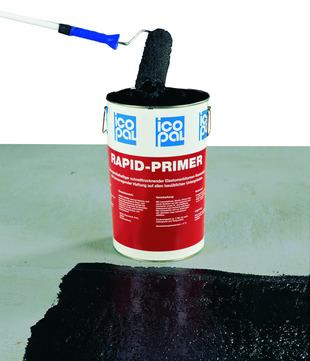 Icopal Primer Rapid 10 l lösungsmittelhaltig Bitumen--Voranstrich