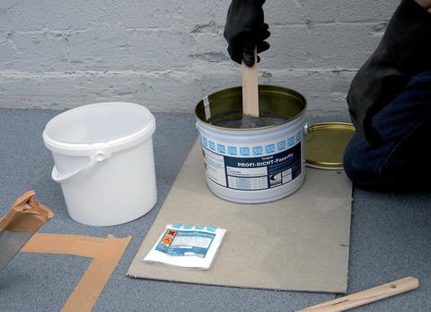 Icopal Profi-Dicht Faserfix 5 kg mit 2 x 100 g Katalysator