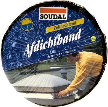 Soudal Soudaband 15cm 10,0m je Rolle 4 Rollen im Karton Grafit