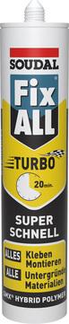 Soudal Fix All Turbo 290 ml 1-K-Hybrid-Polymer Kleb- und Dichtstoff Weiß