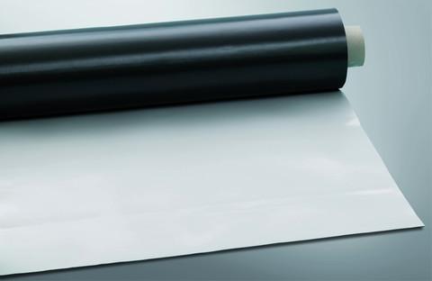 Bauder THERMOFOL D 18 1,8mm 0,50m PVC-Zuschnitt 0,50x10m 5,00m2 je Rolle Lichtgrau