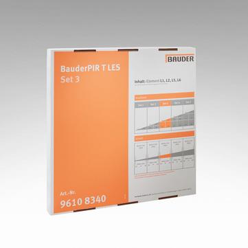Bauder PIR T LES Set 3 Dachreiter Linienentwässerungssystem