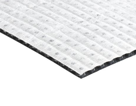 Bauder Dränelement NF10 1,25x12m Noppenhöhe 10mm