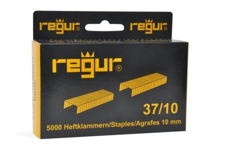 Dr. Gold Heftklammern Regur 37/10mm 5000 Stück Verzinkt