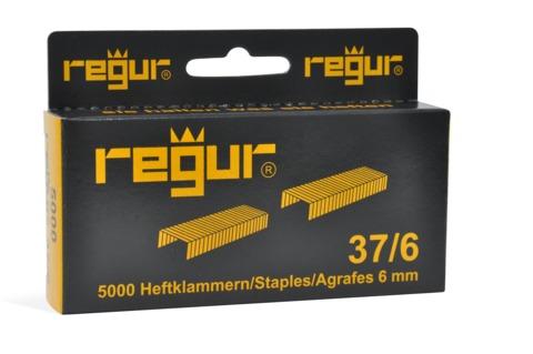 Dr. Gold Heftklammern Regur 37/6mm 5000 Stück Verzinkt