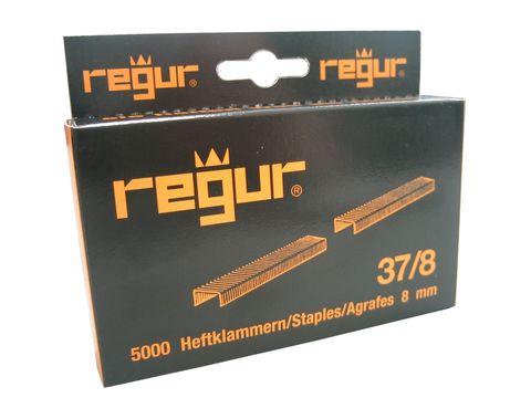 Dr. Gold Heftklammern Regur 37/8mm 5000 Stück Verzinkt