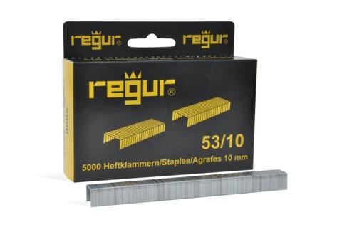 Dr. Gold Heftklammern Regur 53/10mm 5000 Stück Verzinkt