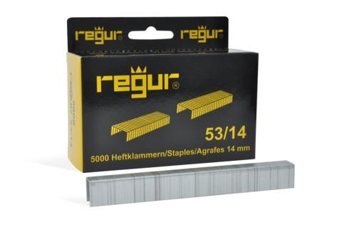 Dr. Gold Heftklammern Regur 53/14mm 5000 Stück Verzinkt