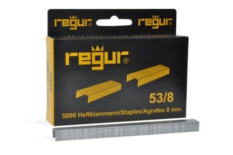 Dr. Gold Heftklammern Regur 53/06mm 5000 Stück Verzinkt