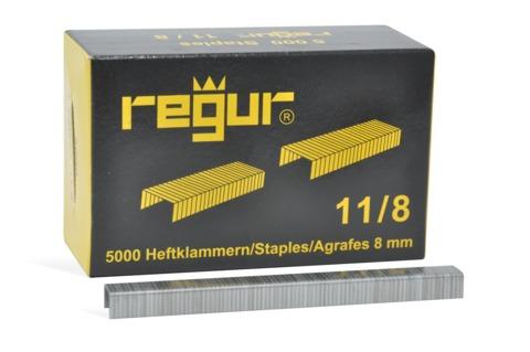 Dr. Gold Heftklammern Regur 11/8mm 5000 Stück Verzinkt