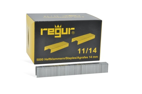 Dr. Gold Heftklammern Regur 11/14mm 5000 Stück Verzinkt