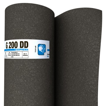 SOPREMA G200DD 1,00x10,0m besandet 24 Rollen je Palette