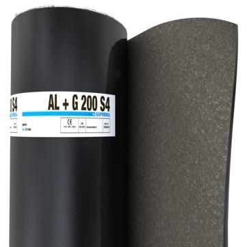SOPREMA G200S4 + Alu 1,00x5,0m 30 Rollen je Palette