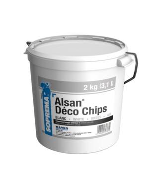 SOPREMA ALSAN PMMA Chips 2 kg Weiß