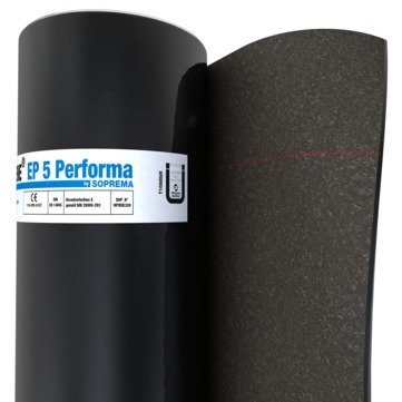 SOPREMA Sopralene EP 5 Performa D 8x1 m Sand/Folie