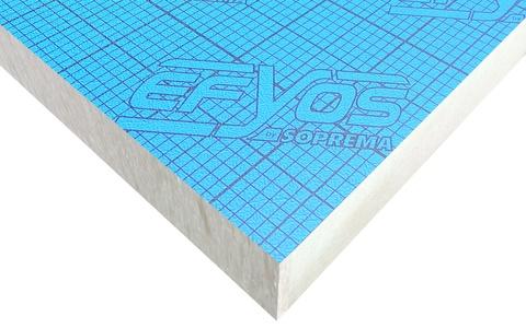 SOPREMA DAA ds PU Kompakt A40 ohne Falz 1200x600 mm Efyos WLS 023