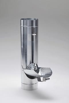 Frank Bauelemente 6-teilige Wasserklappe mit Sieb Titanzink