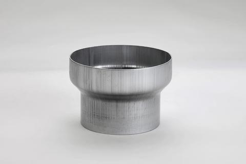 Frank Bauelemente 8-teilige Reduzierstück 80/ 60 mm für Ablaufrohr Titanzink