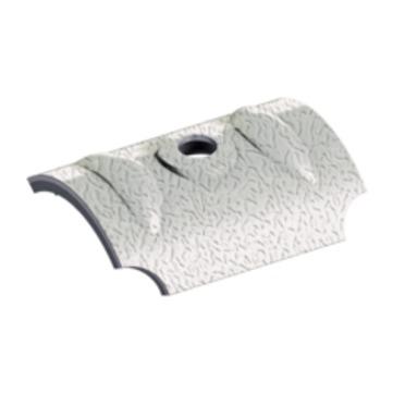 EJOT Orkankalotte W24 100 Stück je Paket für Wellprofil 18/76 mm Alublank