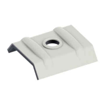 EJOT Orkankalotte 26-27 mm RAL9002 Grauweiß Alu