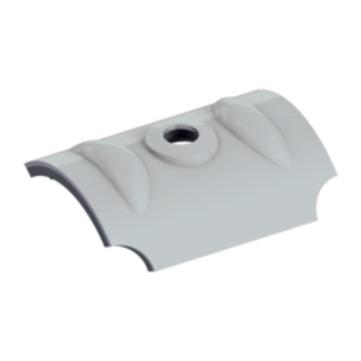 EJOT Orkankalotte W24 RAL9006 100St/Pak für Wellprofil 18/76 mm Weißalum. Alu