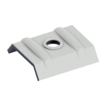 EJOT Orkankalotte 26-15 mm RAL7035 lichtgrau Alu