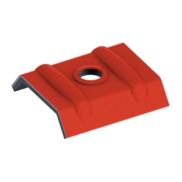 EJOT Orkankalotte 41-32 mm RAL3009 oxidrot Alu