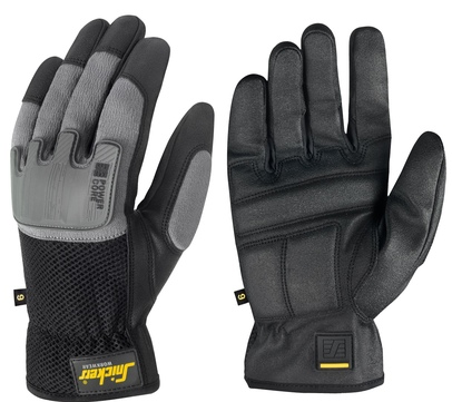Snickers 9585 Handschuhe Gr.9 Power Core 0448 Schwarzsteingrau
