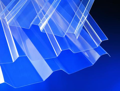 Scobalitwerk Lichtplatte 2500 207/35mm glasklar 1075x2500mm Polycarbonat