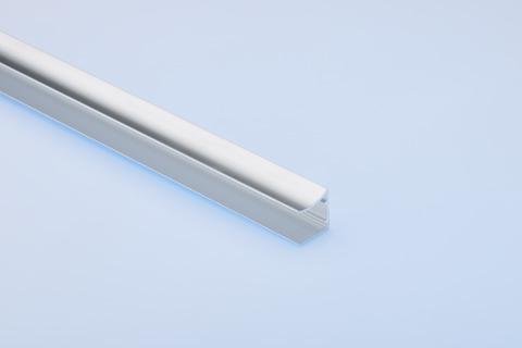 Dolle U-Profil 0,98 m für 16 mm Stegplatten Alu