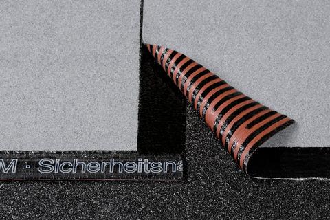 Icopal ELASTOTHERM Quer 5x1 m T-Cut Schiefer Lichtgrau