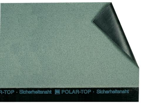 Icopal POLAR-TOP QS Rillen-Vario und bestreuungsfreiem Querstoß Grün