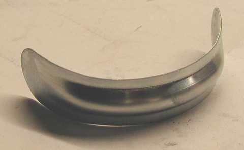 Biermann + Heuer 6-teilige Halbwulst 100 mm Titanzink