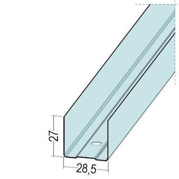 PROTEKTORWERK Profil U 27x28,5x27 mm 300 cm Verzinkt