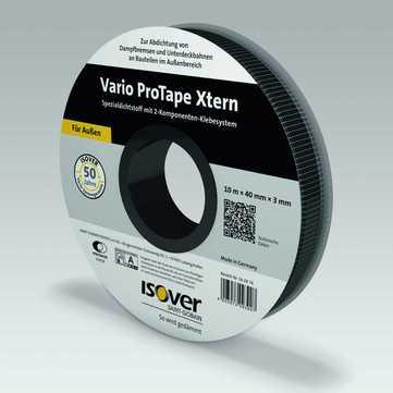 SAINT-GOBAIN ISOVER Vario ProTape Xtern 40 mm mit 2-Komponenten Klebesystem 10,00 m je Rolle