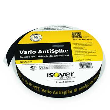 SAINT-GOBAIN ISOVER Vario AntiSpike 65mm 20m je Rolle, Nageldichtband