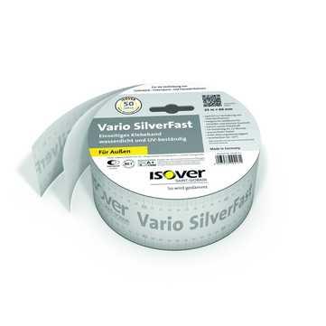 SAINT-GOBAIN ISOVER Vario SilverFast 60mm 25m je Rolle, Klebeband 0,3mm