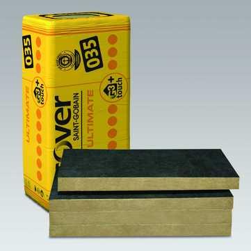 SAINT-GOBAIN ISOVER Ultimate FSP 100mm Fassadendämmplatte 1250x625mm 3,906m2 im Paket WLS 034
