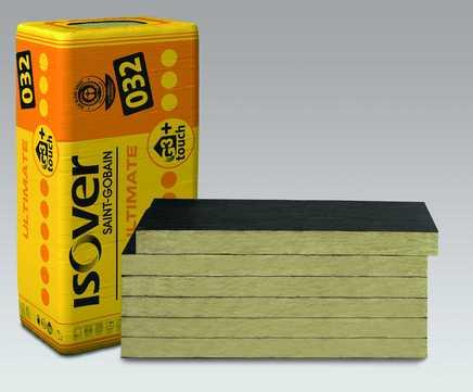 SAINT-GOBAIN ISOVER Kontur FSP L 30mm Ultimate Fassadendämmplatte 1250x600mm 9,00m2 im Paket WLS 032