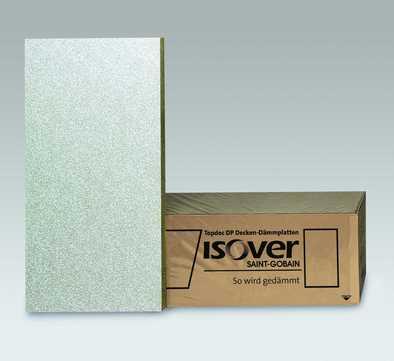 SAINT-GOBAIN ISOVER Topdec DP1 100mm Deckendämmplatte 1250x625mm Struktur WLS 035
